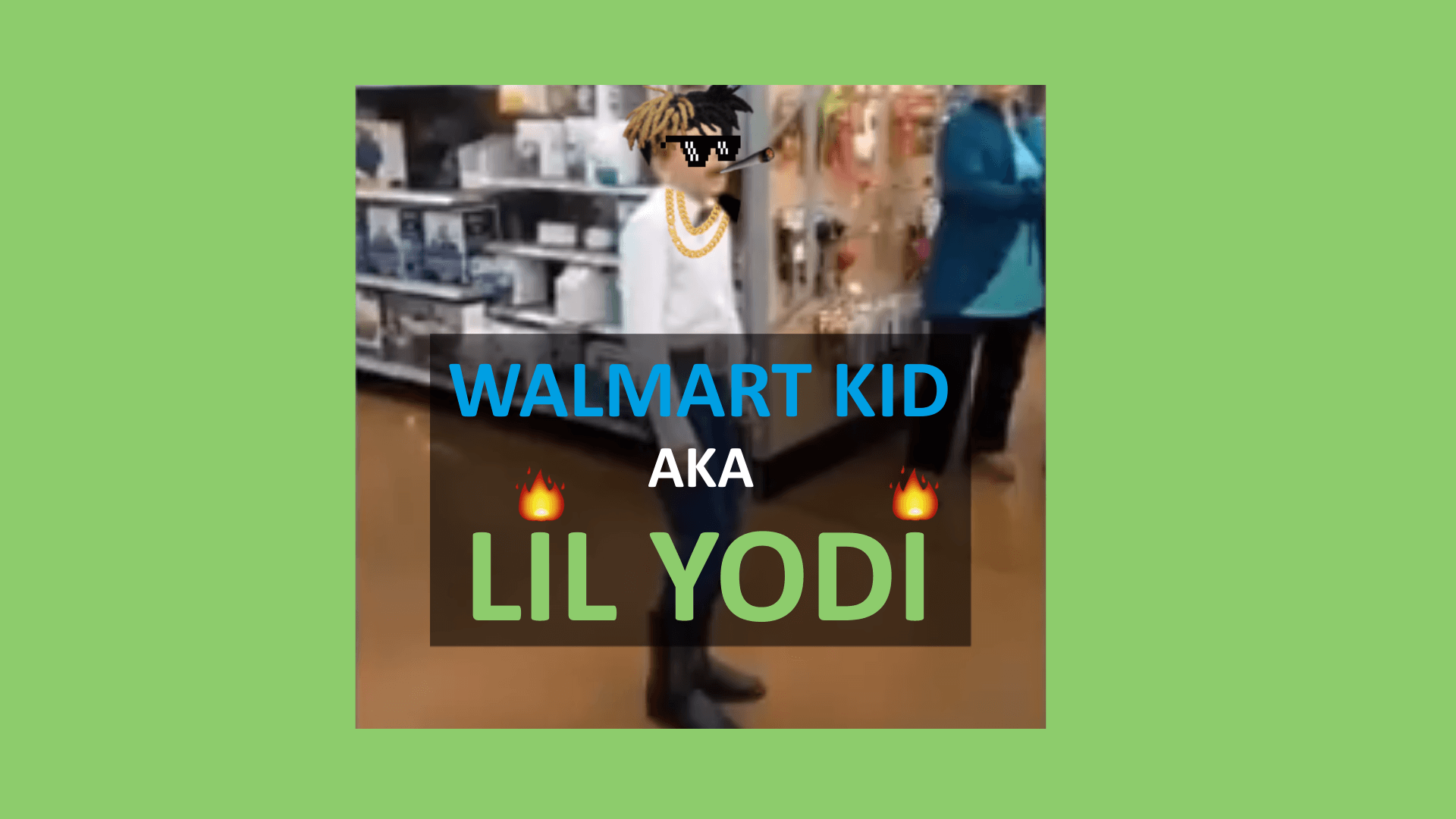 walmart kid trap remix