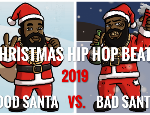 Christmas Hip Hop Beat 2019 | Good Santa vs. Bad Santa